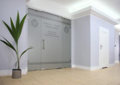 Sesja wnętrz obiektu szpitalnego