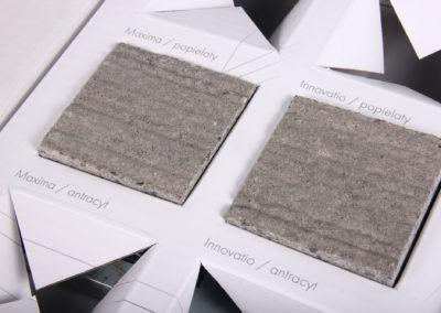 Materiały POS - ekspozytor kostek brukowych