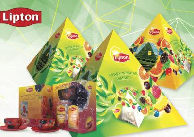 Projekt opakowania dla Lipton